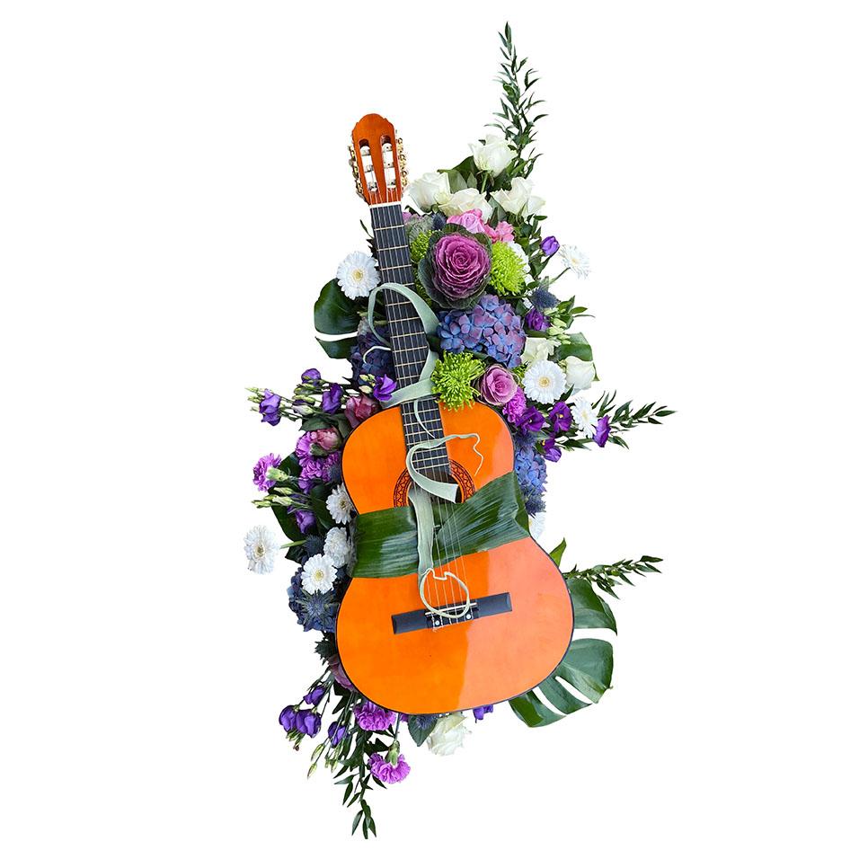 rouwstuk gitaar