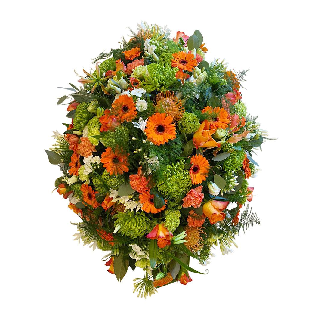 rouwstuk oranje